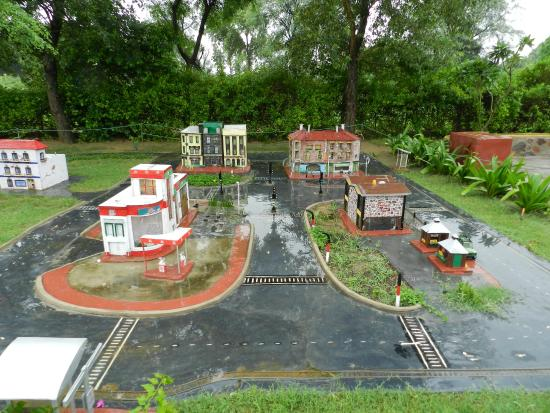The motor city Picture of NeverEnuf Garden Railway Gurugram