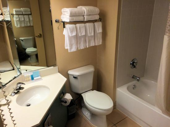Hampton Inn & Suites Annapolis: Bathroom