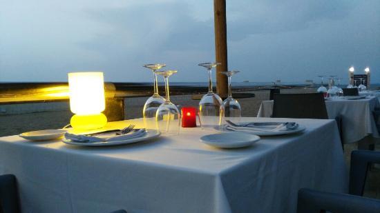 Restaurante L'Espigó : Los atardecer de l ESPIGÓ