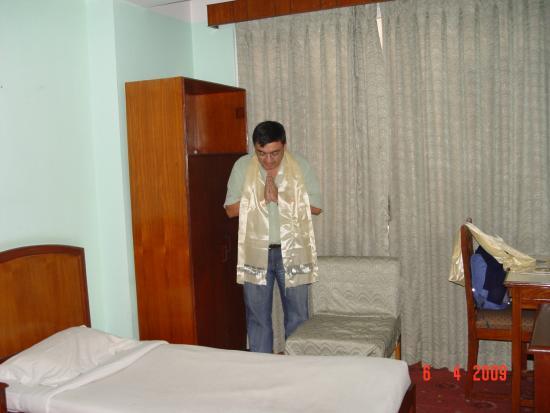 Hotel Marshyangdi: quarto