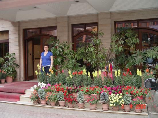 Hotel Marshyangdi: entrada