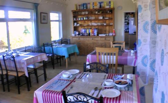 The Penallick B & B: Penallic breakfast room