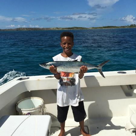 Mackarel picture of chubasco charters nassau tripadvisor for Nassau fishing charters