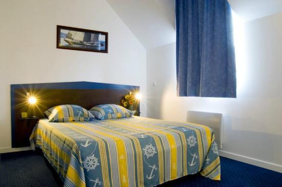Appart'Hotel La Roche-Posay : Chambre