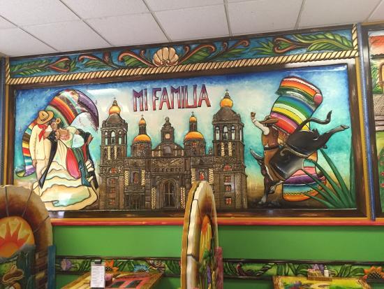Happy Familys Eat At Mi Familia Mexican Restaurant Picture Of Mi