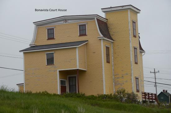 Abbott's Cape Shore Bed and Breakfast: Bonavista Court House
