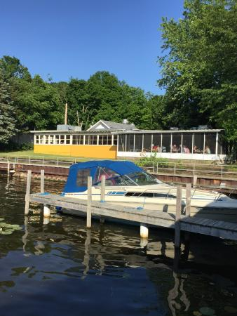 Saugatuck, MI: View from Dock