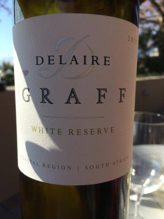 Delaire Graff Estate: Dégustation