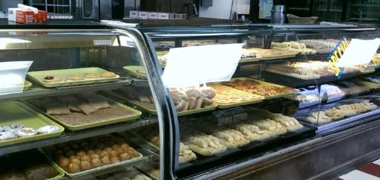 Pano's Bakery internet cafe