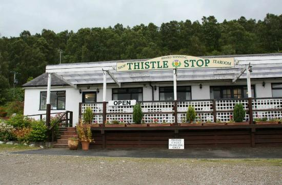 Aberchalder, UK: The Thistle Stop