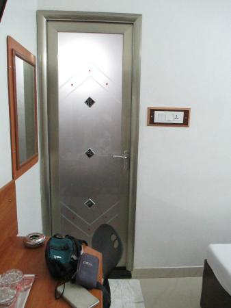 Mary Meridien washroom door & washroom door - Picture of Mary Meridien Coimbatore - TripAdvisor