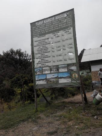 Bodas Lake: Harga Tiket masuk