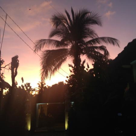 Pande Permai Bungalows: Sunset