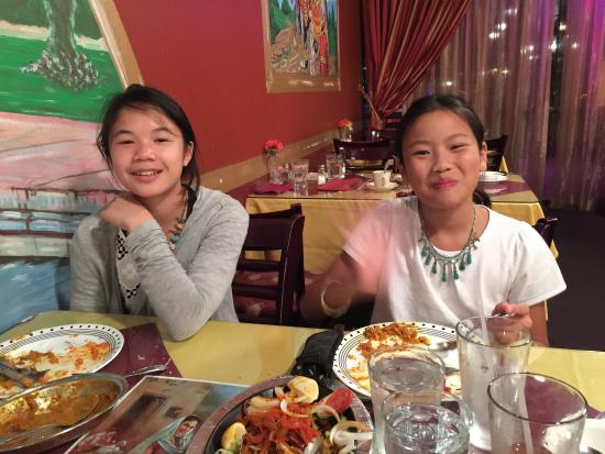 Delhi Palace: Our girls had their first Indian food experience here.  They loved it!