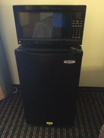 Super 8 Chattanooga/Hamilton Place: Fridge and microwave