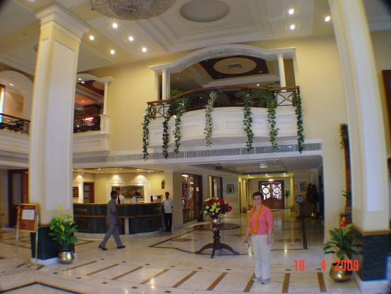 Hotel Ideal Tower: lobby