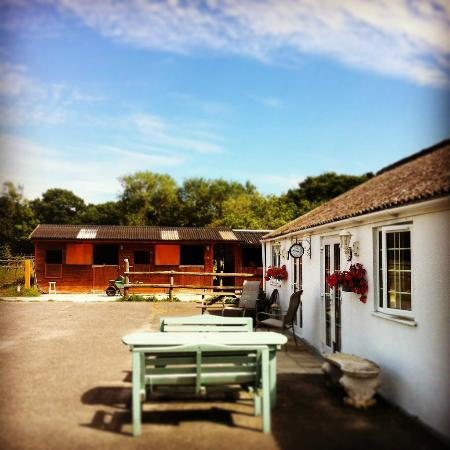 Lodges and stables