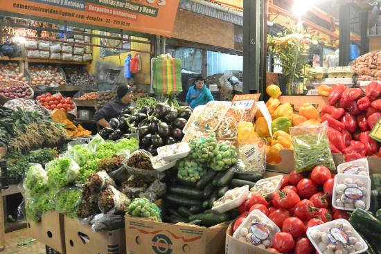 Chilean Cuisine Cooking Classes : Shopping at the Mercado