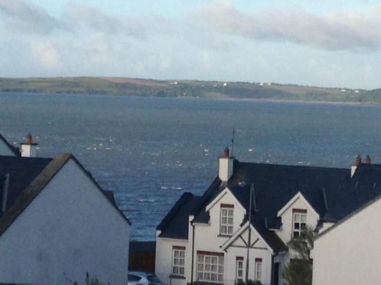Fort Conan Hotel Duncannon: Seaview from bedroom