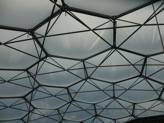 Eden Project Structure Of The Biomes