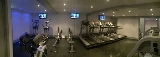 Bishop's Waltham, UK: cardio room
