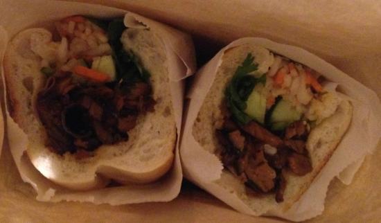 Banh Mi Saigon Bakery: Banh Mi #6 (Vegetarian)