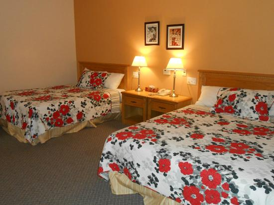 Knights Inn Woodstock: Deluxe Room Handicapped Access