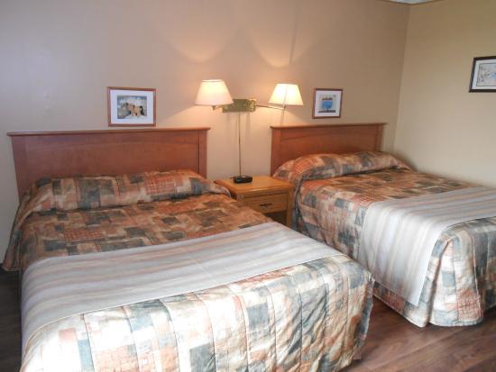 Knights Inn Woodstock: Standard Room 2 Queen beds