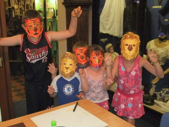 Ilfracombe Museum: Childrens' activities