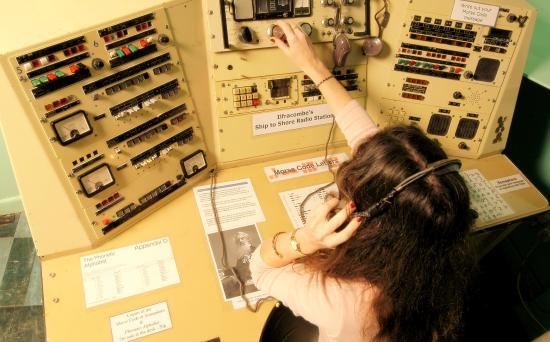 Ilfracombe Museum: Ship to shore radio station