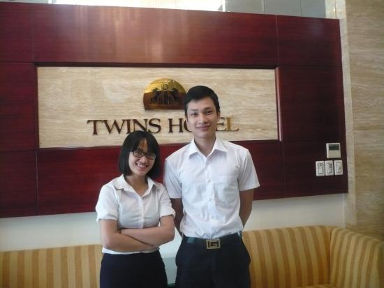 Hanoi Twins Hotel: Friendly staff