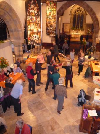Yarpole Community Shop: A Ceilidh in the Church