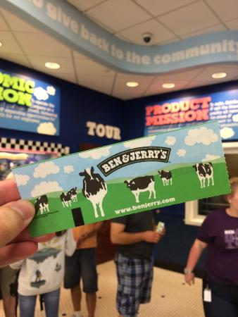 Waterbury, VT: Ticket and Factory Tour