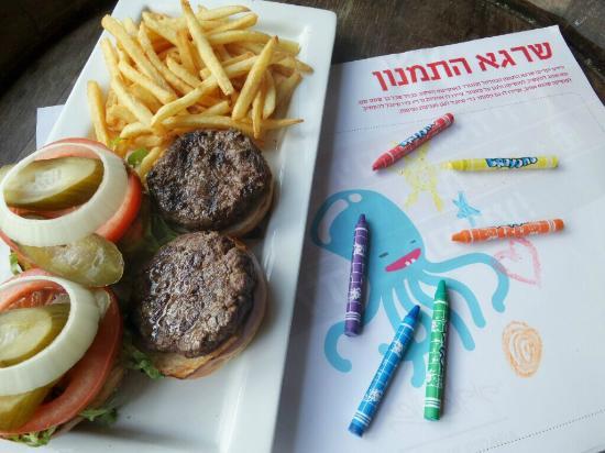 Agadir Bar Burger : kids stuff