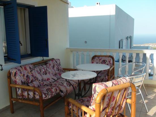 Hotel Leta: Наш балкон