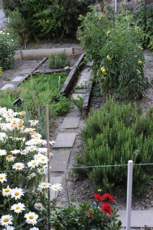 Auberge de la Gare : jardin