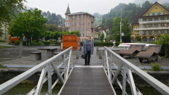 Hotel Schweizerhof: Pier