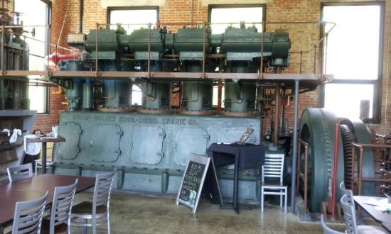 Diesel Engine Picture Of Power Plant Texas Grill Seguin Tripadvisor