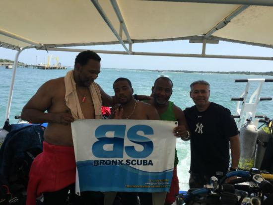Discovery Diving : Bronx Scuba Team