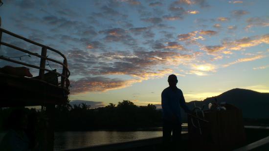 Blue Kiwi Guesthouse: Descida do rio