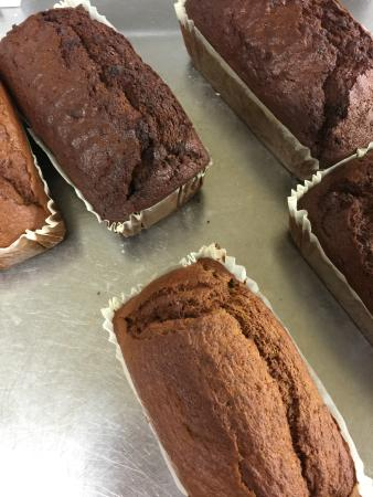 Taste Perthshire: We bake everything fresh. These beauties are sold in our shop. Fruit Smiddy or Banana Loaf anyon