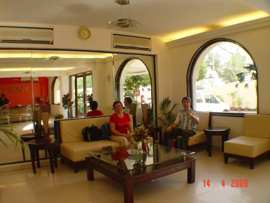 Hotel Pushp Villa : lobby