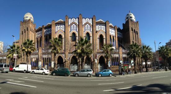 Plaza de Toros Monumental de Barcelona: Panoramic view