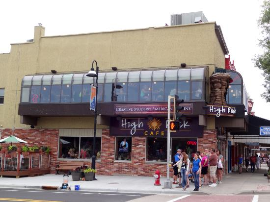 High Rock Cafe Broadway Wisconsin Dells Wi