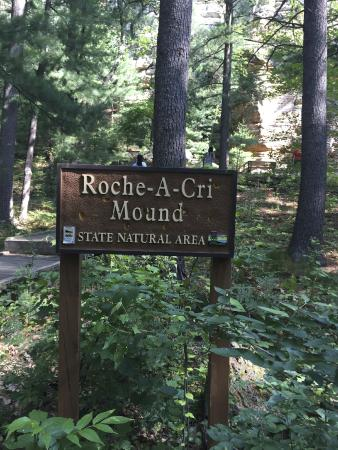 Roche-A-Cri State Park: Highly recommend a visit to this park