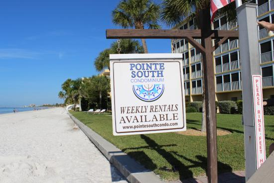Pointe South Resort Beach Access