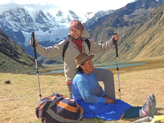 Cordillera Huayhuash : Javier Martin Sosa en Perú