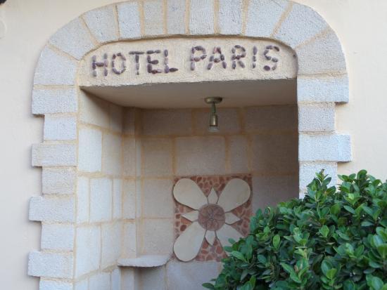 Paris Hotel : Courtyard