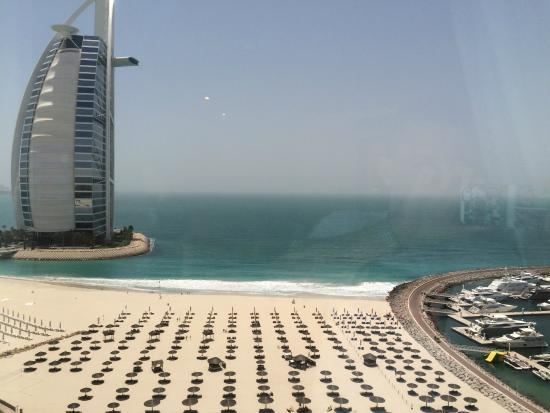 Jumeirah Beach Hotel View From Room On 16th Floor