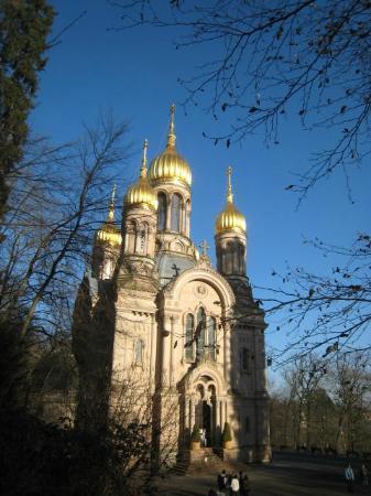 Wiesbaden, Germany: Russian Orthodox church in Neroberg